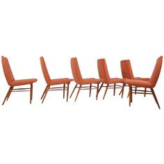 Set of Six George Nakashima Origins Dining Chairs