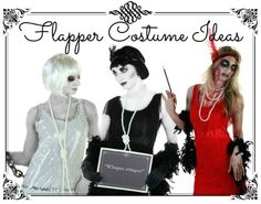 DIY Sexy Flapper Halloween Costume for 2013 - perfect for any Great Gatsby Party or Roaring Twenties Soiree