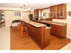 A bar in the basement Basement, Home Improvement, Bar, Kitchen, Table, Furniture, Home Decor, Cuisine, Root Cellar