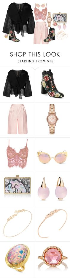 """I still remember his perfect smile"" by blujay1126 ❤ liked on Polyvore featuring Rick Owens, Alice + Olivia, Emilia Wickstead, Michael Kors, WithChic, Fendi, Elie Saab, Pomellato, Jacquie Aiche and Kenneth Jay Lane"