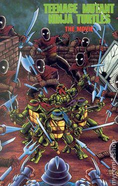 Teenage Mutant Ninja Turtles: The Movie comic adaptation by Peter Laird and Kevin Eastman