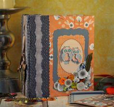Make a beautiful Owl Folk album | Tutorial | docrafts.com