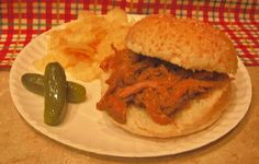 Scrappin' Becky B.: Recipe of the Week...Pulled Pork