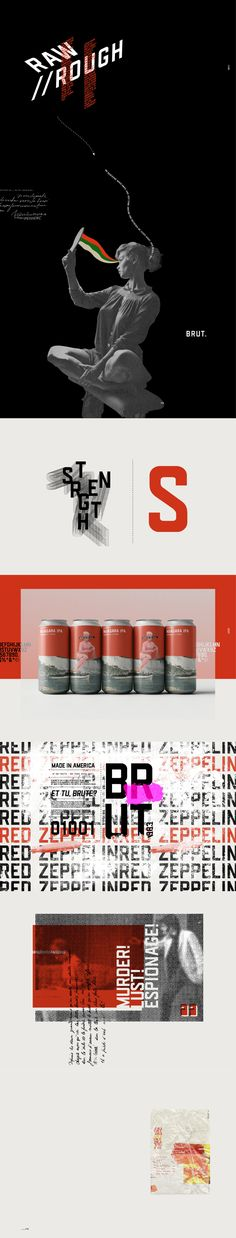 BRUT GOTHIC - FREE SANS SERIF FONT — Pixel Surplus | Resources For Designers Free Typeface, Sans Serif Typeface, Fashion Graphic Design, Graphic Design Inspiration, Skincare Branding, Milk Brands, Luxury Font, Plant Based Milk, Behance