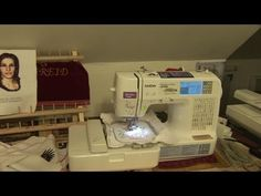 ▶ Brother LB6800 PRW - How to use this sewing & embroidery machine - YouTube