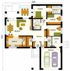 Descubra fotos de Paredes e pisos modernas por Biuro Projektów MTM Styl - domywstylu.pl. Veja fotos com as melhores ideias e inspirações para criar uma casa perfeita.