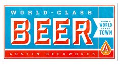 Brand Identity | Austin Beerworks | Helms Workshop