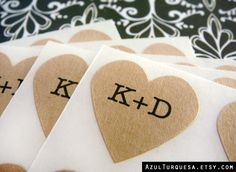 Hey, I found this really awesome Etsy listing at http://www.etsy.com/listing/112773530/108-custom-wedding-heart-stickers-75