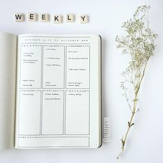 Minimalist Bullet Journal spreads are great for busy people. Here are some very simple weekly page ideas for when you don& have time to plan. Bullet Journal Banner, Organization Bullet Journal, Bullet Journal Junkies, Bullet Journal Ideas Pages, Bullet Journal Spread, Bullet Journal Inspo, Bullet Journals, Bujo, Minimalist Bullet Journal Layout