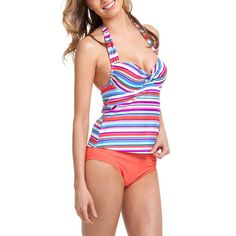 Collections by Catalina Underwire #Tankini #walmart #swimwear