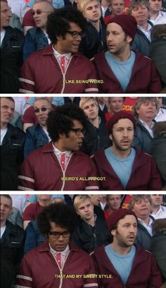 c69b204fe4c08c8e527537fc2fa70a77 being weird it crowd my feelings about soccer expressed by the it crowd lolz