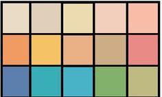 И наконец-то заканчиваем знакомиться с палитрами колоритов=) (Теорию цветотипов можно почитать здесь: http://color-harmony.livejournal.com/20 2756.html ) Сегодня последняя палитра из 12 - Теплая Осень Ссылки,…