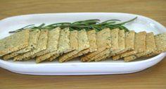 Paleo Rosemary Cashew Spice Cracker Recipe
