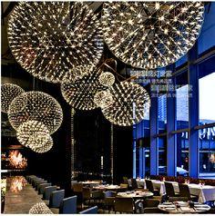 LED Raimond Pendant Lamp Designer Lighting dandelion Chandelier Ceiling Fixtures #Modern