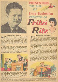 Bushmiller+FRITZI+RITZ