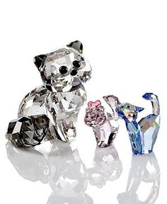 Swarovski Collectible Figurines, House of Cats Lovlots Collection - Home Decor - for the home - Macy's
