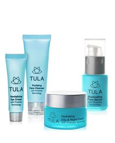 Probiotic 4 Piece Deluxe Discovery Kit - TULA Skin Care