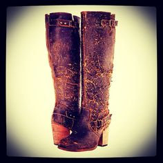Gabriella Rocha Pacific Wide Calf Boots are specifically designed for women who are oozing with old cowboy western charm. Wide Calf Boots, Knee High Boots, Over The Knee Boots, Fat Calves, Plus Size Boots, Gabriella Rocha, Big Legs, Leather Riding Boots, Dress With Boots