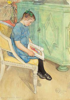 "Carl Larsson, ""Anna-Johanna"" c.1913 – The Lucas Museum of Narrative Art"