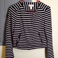 Loft zipper jacket/blazer Worn once or twice LOFT Jackets & Coats Blazers