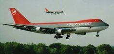 Northwest Airlines Boeing 747-251B
