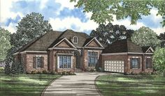 Spacious Design With Mother-in-Law Suite - 5906ND   1st Floor Master Suite, Bonus Room, CAD Available, Corner Lot, Den-Office-Library-Study, In-Law Suite, Jack & Jill Bath, Media-Game-Home Theater, PDF, Photo Gallery, Traditional   Architectural Designs