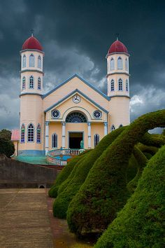 Church of San Rafael, Zarcero, Costa Rica