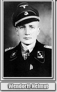 Helmut Wendorff,  Ritterkreuzträger, sSS Pz Abteilung 101 he knocked out 95 enemy tanks KIA near Caen, France, 1944.