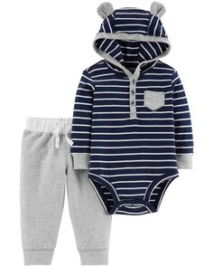 8032cf4893 Baby Boy 2-Piece Bodysuit Pant Set from Carters.com. Shop clothing  amp.  Carter s