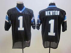 $19.85 2012 Nike Elite jerseys Carolina Panthers 1# Cam Newton black Football jerseys