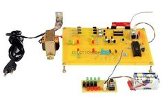 Mini Project For Electronics, Hobby Electronics, Electronics Basics, Electronics Projects, Simple Arduino Projects, Simple Circuit, Pvc Pipe Projects, Electronic Schematics, Circuit Diagram
