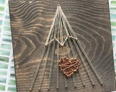 mountain string art – Etsy