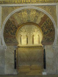 MEZQUITA (Mihrab)