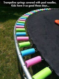 This would have been perfect for my trampoline!