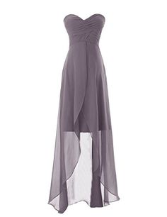 Diyouth Long Sweetheart Chiffon Bridesmaid Dresses Elegant High-low Evening Gowns Grey Size 2 Diyouth http://www.amazon.com/dp/B00LQMPORK/ref=cm_sw_r_pi_dp_rpENub1H74C26
