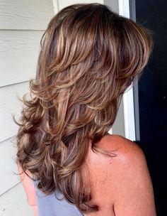 Medium Layered Hair, Long Layered Haircuts, Medium Hair Cuts, Long Hair Cuts, Medium Hair Styles, Curly Hair Styles, Long Hair Short Layers, Long Curls, Hair Styles Long Layers