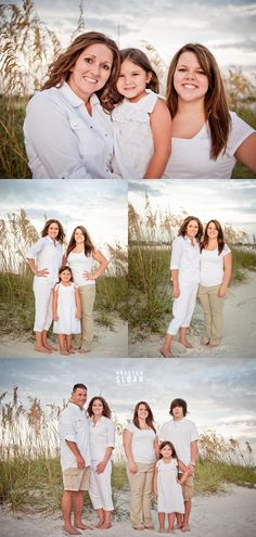 St Pete Beach | Treasure Island FL Sunset Portraits | Florida Beach Family Portraits |