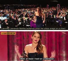 How Jennifer Lawrence Deals With Embarrassing Situations… – Things You Didn't Know!