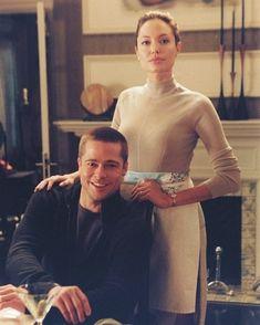 Brad Pitt And Angelina Jolie, Jolie Pitt, Clueless Fashion, Mr And Mrs Smith, Boyfriend Goals, Cute Couples, My Girl, Portrait Photography, Hollywood