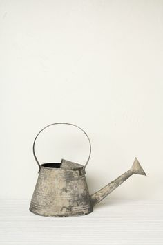 Decorative vintage watering can