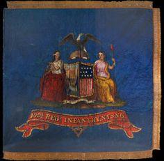 Regimental flag of the 105th New York  Volunteer Infantry