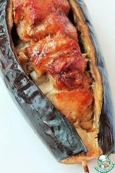 Шашлык в баклажане – кулинарный рецепт Sausage, Pork, Bread, Recipes, Crickets, Kale Stir Fry, Sausages, Brot, Recipies