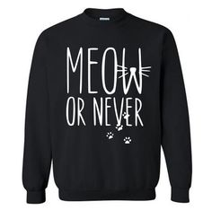 Meow or Never sweaters