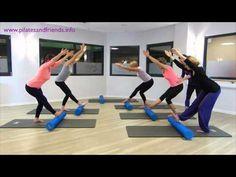 Yoga Fitness, Fitness Tips, Pilates Foam Roller, Roller Workout, Workout Videos, Workout Tips, Le Pilates, Foam Rolling, Health And Wellness
