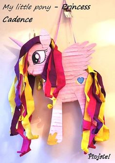 My little pony Princess Cadence pinata by PinjateNoviSad on Etsy