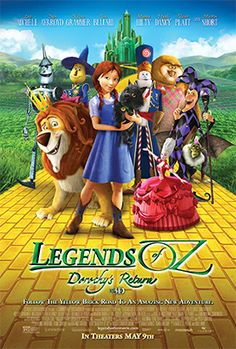 New release this week: Legends of Oz: Dorothy's Return