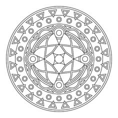 Mandala para imprimir 23 - La Guía de Mandalas