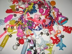 Does anyone else remember the plastic eighties charms?