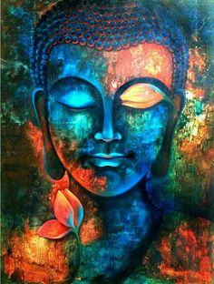 Original acrylic art painting on canvas buddha painting zen art meditation large Art Buddha, Buddha Kunst, Buddha Painting, Buddha Canvas, Buddha Head, Buddha Drawing, Buddha Buddhism, Zen Painting, Buddha Quote