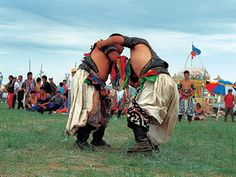 Naadam festival in Mongolia - competitions in archery, horseback riding, wrestling and more!